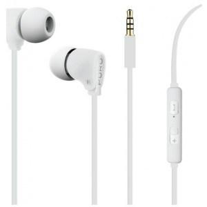 Fine Stereo In-Ear høretelefon, hvid