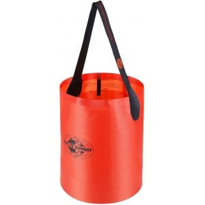Folding Bucket 10 Litre - rød - Sea to summit