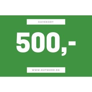 Image of   500 kr gavekort