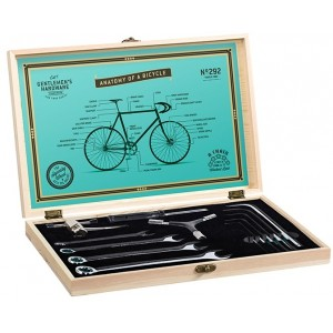 Image of   Bicycle Tool Kit In Wood Box