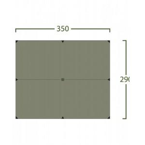 Image of   Bitihorn Pro Tarp 3,5x2,9 green