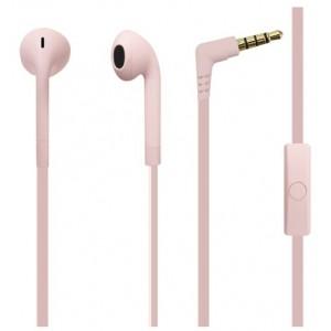 ICON stereo hovedtelefon m/mikrofon, rosa