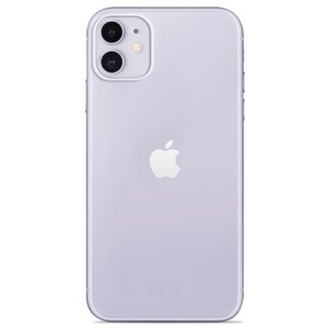 iPhone 11, 0.3 Nude cover, transparent - Mobilcover