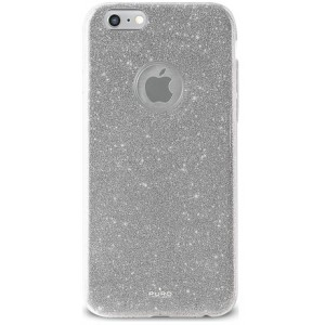 iPhone 8/7/6/6S, Shine Cover, sølv - Mobilcover thumbnail