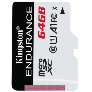 Kingston 64gb Microsdxc Endurance 95r/30w C10 A1 Uhs-i - Diverse