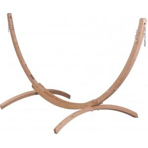 Image of   Canoa Caramel - Stativ Af FSC-certificeret Grantræ Til Dobbelt-hængekøjer