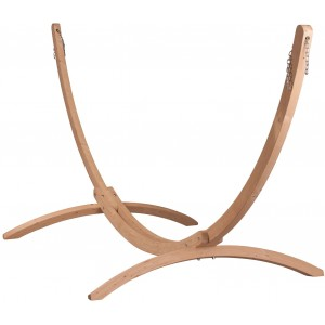 Image of   Canoa Caramel - Stativ Af FSC-certificeret Grantræ Til Kingsize-hængekøjer