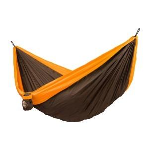 Billede af Orange dobbelt rejsehængekøje colibri la siesta