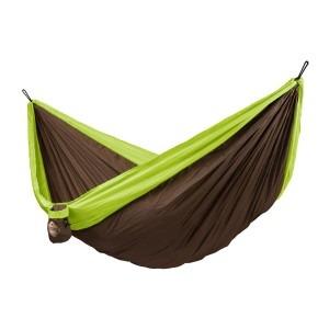 Grøn dobbelt colibri la siesta rejsehængekøje