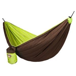 Billede af Grøn colibri la siesta single rejsehængekøje polstret