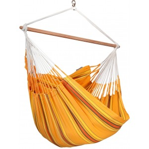 Image of   Currambera Apricot - Lounger-hængekøjestol I Bomuld