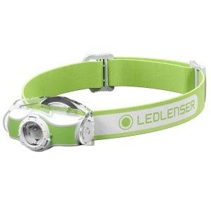 LEDLenser MH3 - Grøn pandelampe