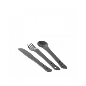 Image of   Ellipse Cutlery Set (Graphite)