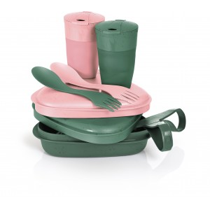 Image of   Pack´n Eat Kit BIO sandygreen/dustypink
