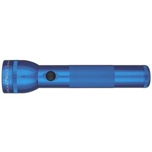 Blå lommelygte maglite 2-cell d