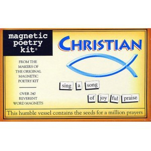 Magnetic Poetry - Magnetic Poetry Christian