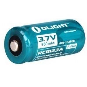 Image of   1 X Rcr123a Genopladeligt Batteri