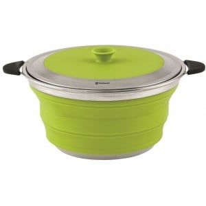 Image of   Collaps Gryde med låg 4,5L Lime Green