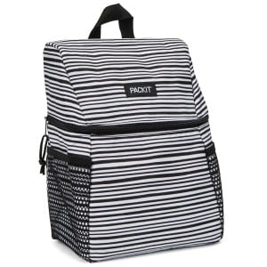 Packit Freezable Everyday Lunch Backpack - Wobbly Stripes køletaske