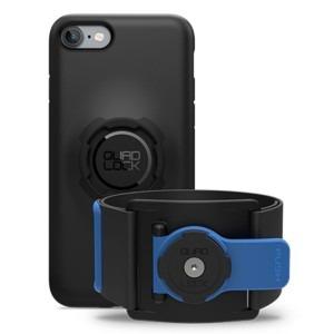 Billede af iPhone 8, 7 run kit quad lock