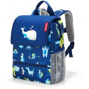 Reisenthel Backpack Kids Abd Friends Blue