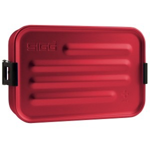 SIGG Metal Box Plus S 900 ml - Rød