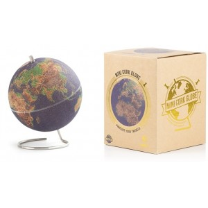 Image of   Colour Cork Globe Small