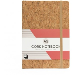 Image of   Cork Notebook A5