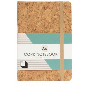 Image of   Cork Notebook A6