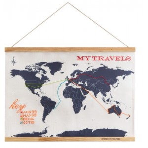 Image of   Cross Stitch Map