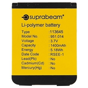 Image of   1400mah suprabeam batteri