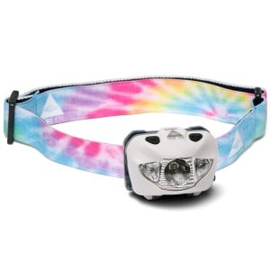 Tie Dye hvid third eye headlamps