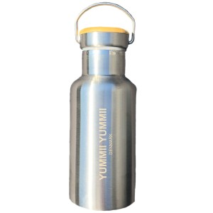 Image of   Yummii Yummii thermo flask bamboo 350 ml