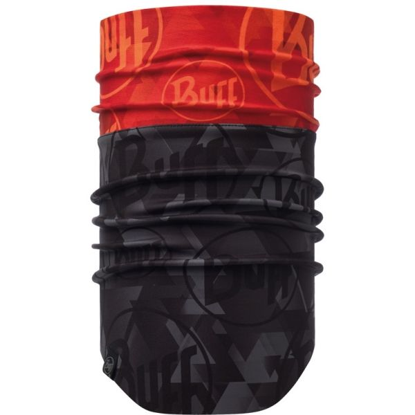 Buff Windproof Neckwarmer - Tip Logo Orange Flour