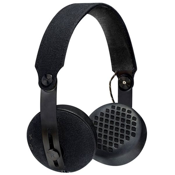 House of Marley Rise BT Wireless Bluetooth Headphones - Black