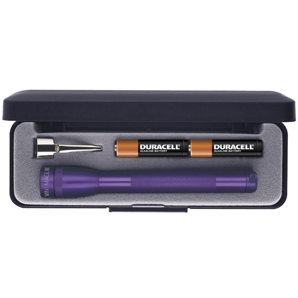 Maglite M3A982 Mini lommelygte AAA Box Violet