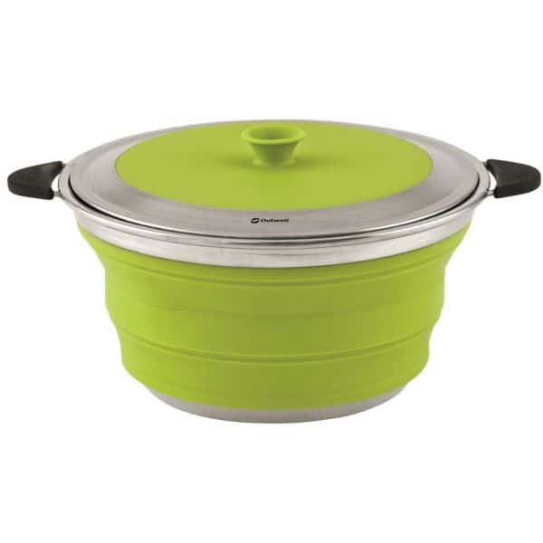 Outwell Collaps Gryde med låg 4,5L Lime Green