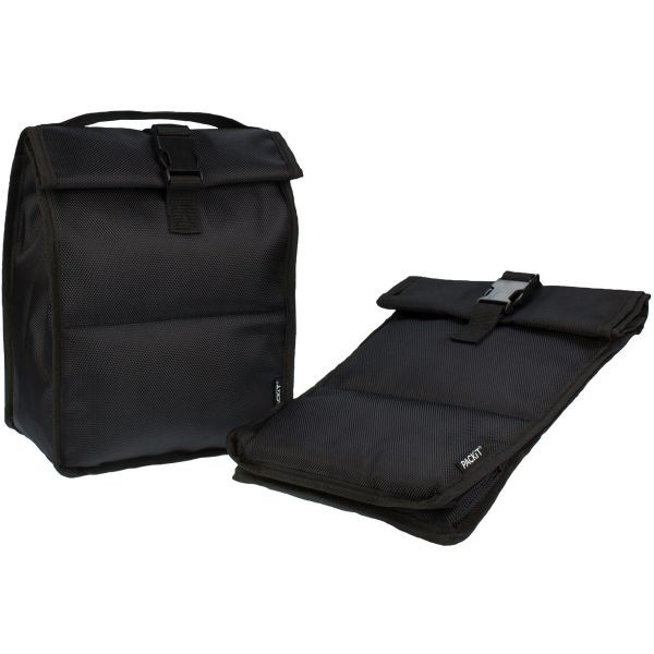 Packit Frysbar Rolltop Lunch Bag køletaske - Sort