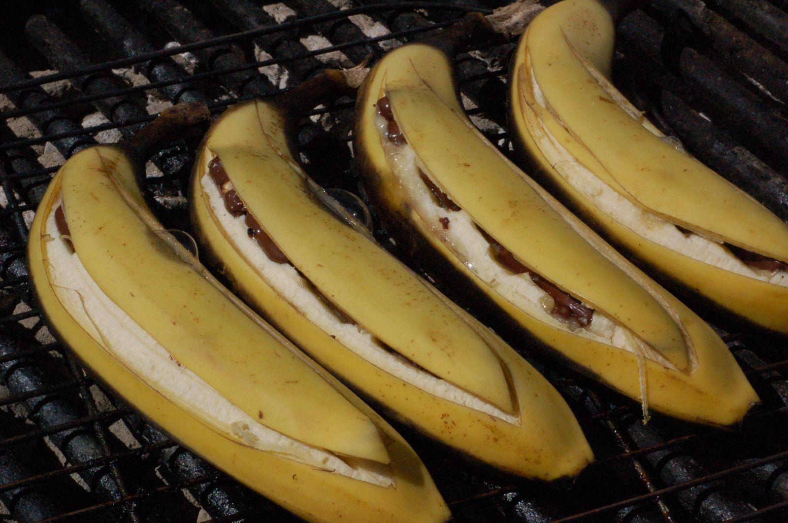 Opskrift Pa Dessert Pa Bal Bananer Med Chokolade