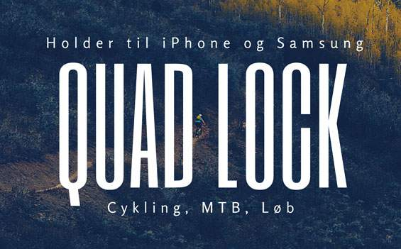 Quad Lock til iPhone